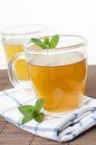 Grüner tadelloser Tee Lizenzfreie Stockbilder