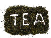 Grüner Tee. Stockfoto