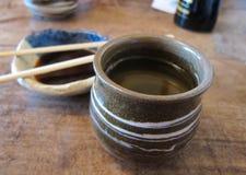Grüner Tee Stockbild