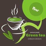 Grüner Tee lizenzfreie abbildung