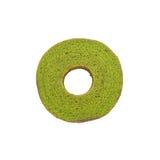 Grüner Tee baum Kuchen Stockbild