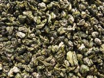 Grüner Tee benannt grünen Fallhammer lizenzfreie stockfotos