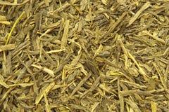 Grüner Tee-Beschaffenheit Lizenzfreie Stockfotografie