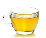 Grüner Tee-Cup lizenzfreie stockfotografie