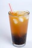 grüner Tee der Luftblase lizenzfreie stockfotografie