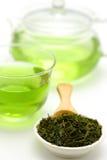 Grüner Tee des Eises Lizenzfreie Stockfotos