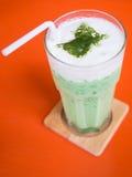 Grüner Tee des Eises Stockbild