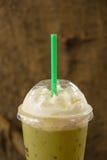 Grüner Tee des Eises Lizenzfreies Stockbild