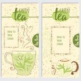 Grüner Tee: Eigenschaften und Nutzen für die Gesundheit lizenzfreie abbildung