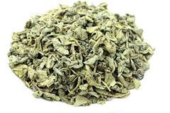 Grüner Tee-Schießpulver Indonesien Stockfoto
