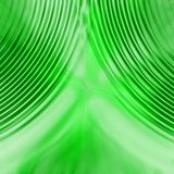 Grüner Trennvorhang stock abbildung