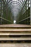 Grüner Tunnel Lizenzfreies Stockbild