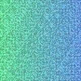 Grüner und blauer Pixelmosaikhintergrund Lizenzfreie Stockbilder
