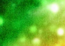Grüner und gelber alter Schmutz verzerrt Rusty Abstract Pattern Texture Background-Tapete Lizenzfreie Stockfotografie