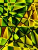 Grüner und gelber Hintergrund Stockbilder