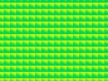 Grüner und gelber quadratischer Hintergrund Lizenzfreies Stockbild