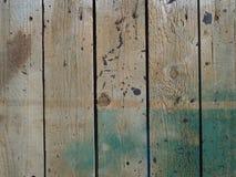 Grüner und weißer gemalter hölzerner Beschaffenheitshintergrund lizenzfreie stockfotos