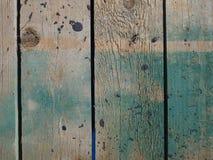 Grüner und weißer gemalter hölzerner Beschaffenheitshintergrund stockbilder