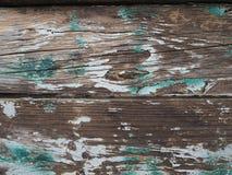 Grüner und weißer gemalter hölzerner Beschaffenheitshintergrund stockbild