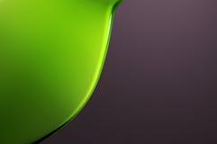 Grüner Vase Stockfoto