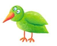 Grüner Vogel Stockfotografie