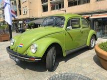 Grüner Volkswagen Typ 1, alias Käfer, Wanze und Kafer Stockbilder