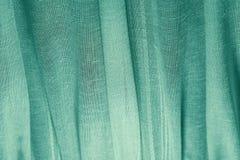 Grüner Vorhang belichtete Laterne stockbilder