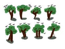 Grüner Wald vektor abbildung