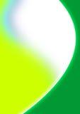 Grüner Web-Auszug Stockbild