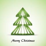 Grüner Weihnachtsbaum Lizenzfreies Stockbild