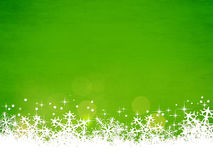 Grüner Weihnachtshintergrund Lizenzfreies Stockfoto