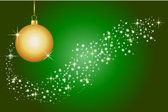 Grüner Weihnachtshintergrund