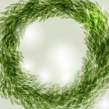 Grüner Wreath Stockfoto