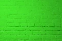Grüner Ziegelstein-Hintergrund Lizenzfreies Stockbild