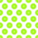 Grüner Zitrusfruchthintergrund des frischen saftigen Kalkes des Schnittes schellt in der Reihe neben einander und abwechselnd unt lizenzfreie abbildung