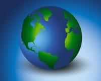 Grünere Welt Stockfotografie