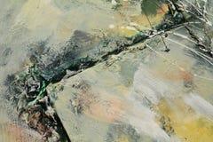 Grünes Öl streicht Hintergrund Lizenzfreies Stockbild