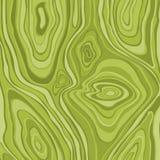 Grünes abstraktes Wellengestaltungselement, hölzerne Beschaffenheit, Hintergrund vec stock abbildung