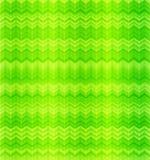 Grünes abstraktes Zickzacktextilnahtloses Muster Lizenzfreies Stockbild
