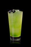 Grünes Alkoholcocktail lizenzfreie stockbilder