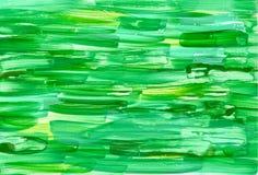 Grünes Aquarell Stockbilder