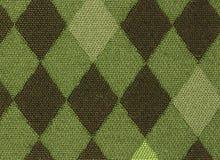 Grünes Argyle Stockfoto