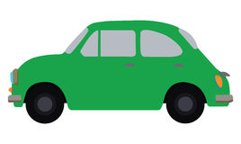 Grünes Auto Stockfoto