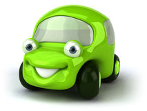 Grünes Auto Lizenzfreies Stockbild