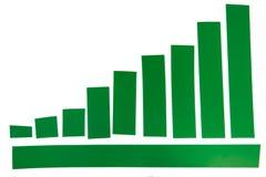 Grünes Band stockfoto