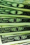 Grünes Bargeld Stockfotos