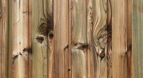 Grünes Bauernhofholzdetail Lizenzfreies Stockfoto