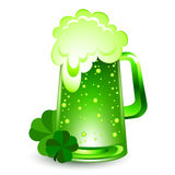 Grünes Bier Lizenzfreies Stockfoto