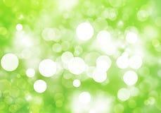 Grünes Bokeh Stockfotos