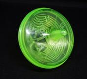 Grünes Chanukka-Plastikc$spinnen Lizenzfreies Stockfoto